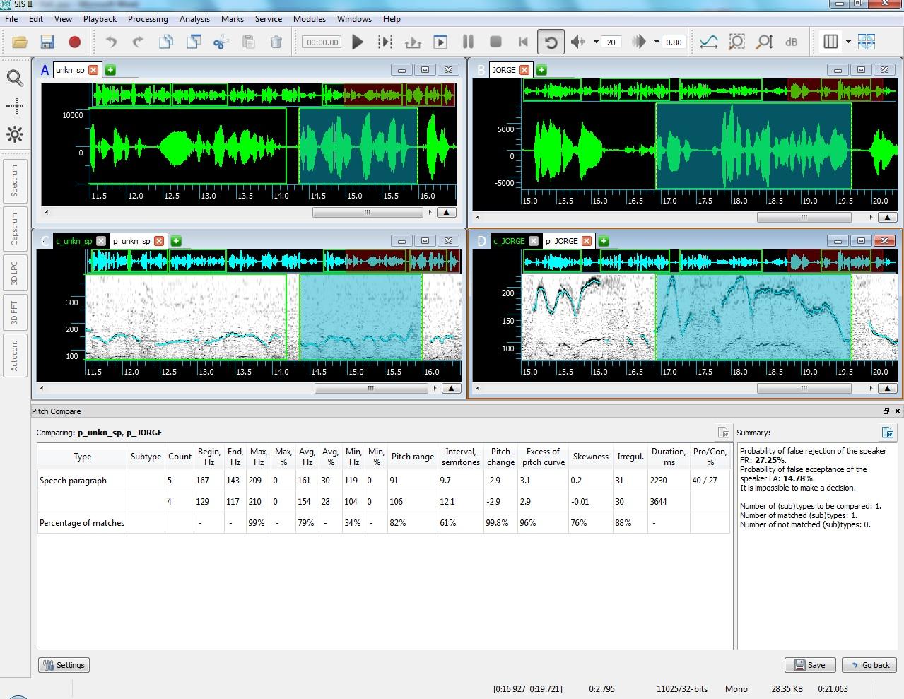 Forensic Audio Workstation Speechpro