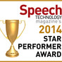 SpeechPro to Receive Star Performer Award by Speech Technology Magazine