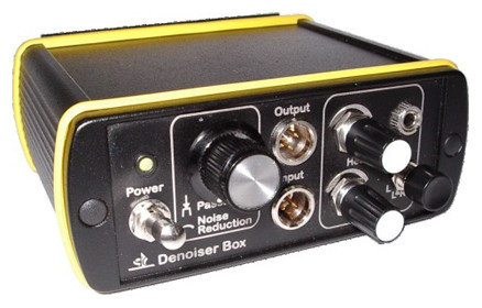Real-time noise filtering Denoiser Box