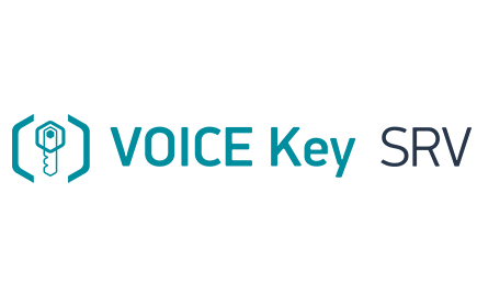 VoiceKey.SRV: Feature-rich server-based voice biometric solution for the Enterpr