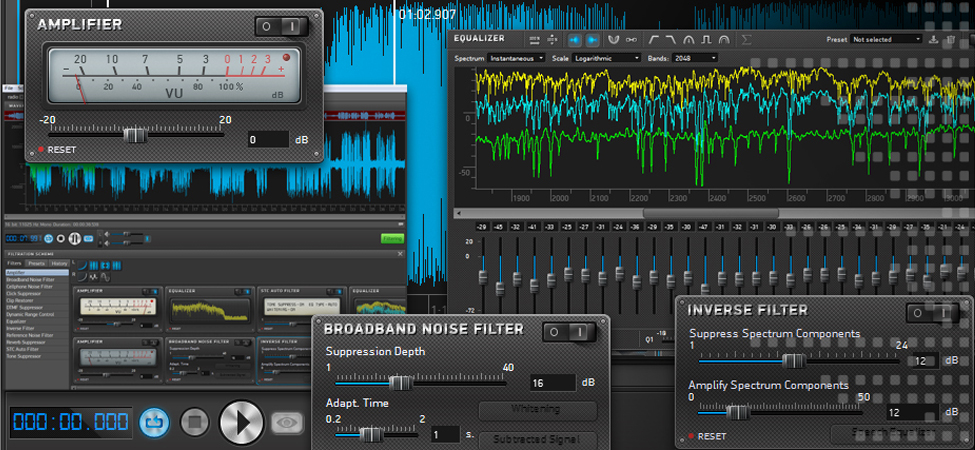 Sound Cleaner II: Comprehensive audio restoration software | SpeechPro
