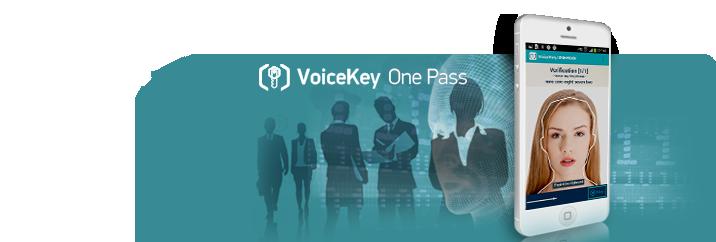 VoiceKey.OnePass: Bimodal (voice+face)  biometric authentication solution